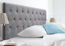 brilliant fabric bed heads king queen fabric upholstered bed head