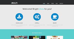 website design free free multi web design theme