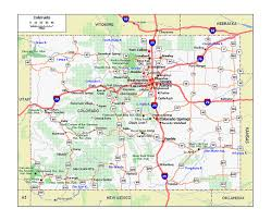 Mesa Verde Map Maps Of Colorado State Collection Of Detailed Maps Of Colorado