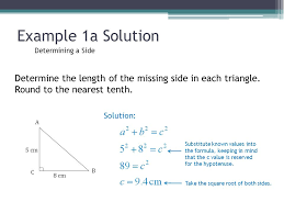 solving right triangles ppt