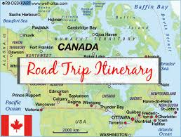 Canada Road Trip Map by Chasing The Rainbow Blog Archive Canada Diary Part 3 U2013 Our