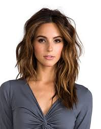 cute shoulder length haircuts longer in front and shorter in back best 25 long wavy haircuts ideas on pinterest what is an