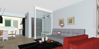 modern living room interior design partition interior design modern minimalist living room interior design with grey and red