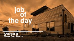 job of the day architect at mole architects in cambridge