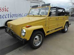volkswagen thing yellow 1973 volkswagen thing for sale classiccars com cc 968631