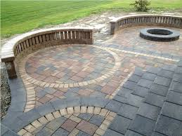 Backyard Patio Pavers Enchanting Patio Paver Design Ideas Backyard Patio Ideas With