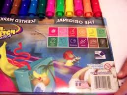 mr sketch scented original markers 12 pack youtube