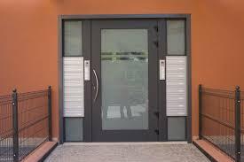 portoncini ingresso in alluminio serramenti in alluminio