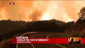 California Wildfires Highway Closures by 2 Wildfires In California Prompt Evacuation Orders Fox40