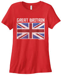 London Flag Photos Women U0027s Flag Of Great Britain T Shirt Uk England London Top Tees
