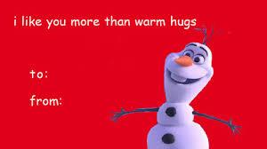 Disney Valentine Memes - funny valentine cards tumblr disney valentines meme frozen warm hugs
