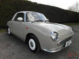 nissan figaro interior figaro topaz mist 1 0 turbo convertible rare colour usable classic