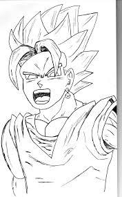 manga drawing dragon ball jfddjf54 deviantart