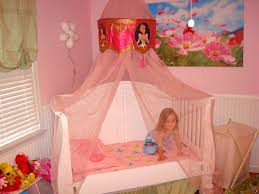 no sew diy little girls bed canopy with lights i know a special