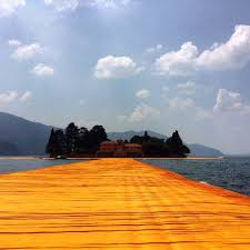 Floating Piers by Shooting Down The Purely Aesthetic Aspirations Of Christo And