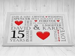 15th wedding anniversary gifts paper gift ideas u top st 15th wedding anniversary gift ideas