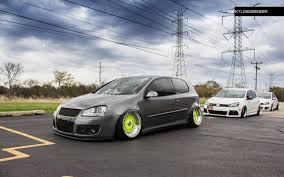 fast volkswagen cars slammed vw mk5 golf on bbs german vermin pinterest slammed