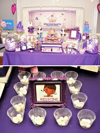 doc mcstuffin party supplies pink and purple doc mcstuffins party hostess with the mostess