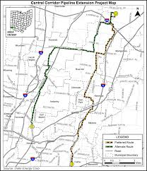 Map Of Southwest Ohio Duke Scales Back Plans For Natgas Pipeline In Southwest Ohio