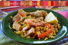 cuisiner une paella la paella de philippe