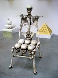 Wooden Skull Chair Skull U0026 Bones Chair The Worley Gig
