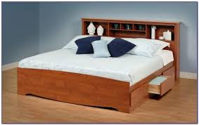 Platform Bed Canada King Size Platform Bed With Storage Canada Bedroom Home Design