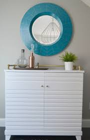 diy round mirror frame photos