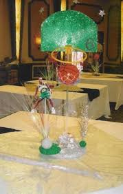basketball centerpieces basketball theme centerpiece totally awesome centerpieces and
