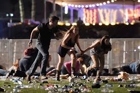these chilling videos show the las vegas shooting from the route