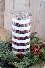 Decorated Jars For Christmas Christmas Decor Painted Glass