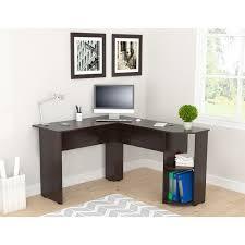 inval computer desk with hutch inval merlin espresso wengue corner desk free shipping today