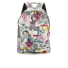 bloom backpack mi pac gold bloom backpack multi white clothing thehut