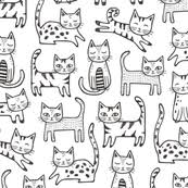 black and white fabric wallpaper u0026 gift wrap spoonflower