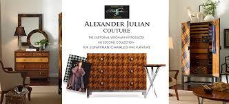 Alexander Julian Bedroom Furniture by Jonathan Charles