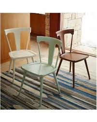 on sale now 35 off west elm west elm splat dining chair pecan