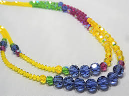 necklace beaded crystal images Crystal beaded necklaces lfk jewels jpg