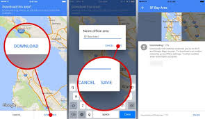 android offline maps use maps offline on ios android devices without