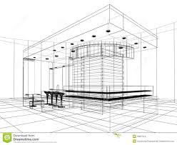 sketch design of shop stock images image 36947614