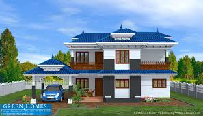 green homes kerala model home in 2400 sq feet