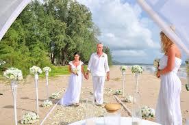 Beach Wedding Khaolak Beach Wedding Renew Package Ann Marnix