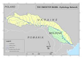 Europe Rivers Map by Maps And Graphics From The Dniester Gis Project Central