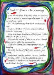 wedding quotes kahlil gibran heartful online on marriage kahlil gibran poster 5x7