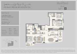panorama towers floor plans dubai creek residences emaar properties
