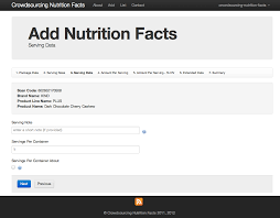 fine blank nutrition facts template gallery resume templates