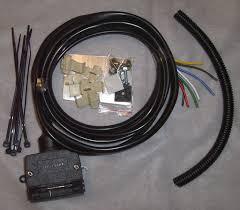 dtec wiring harness 7 pin jk 2 4dr 2007