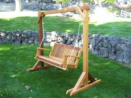 building a tall swing frame porch swing a frame free plans for