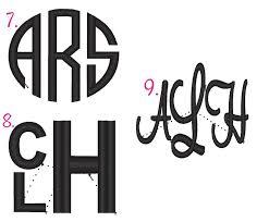 initial monogram fonts monogram font styles