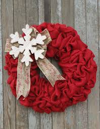christmas burlap wreaths celebrate christmas with this rustic snowflake wreath