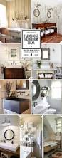 farmhouse bathroom ideas and decor tips vanity sink lighting