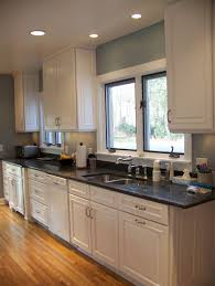 white kitchen cabinets with yellow walls exitallergy